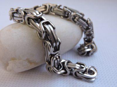 Браслет лисий хвост, браслет византийский