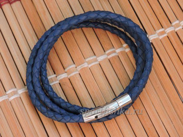 Кожаный шнурок с надежным замком