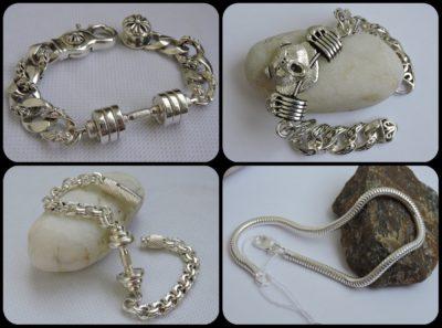 Браслеты серебро