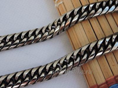 Плотное плетение цепочки