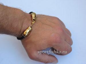 Подарок боксеру браслет перчатки