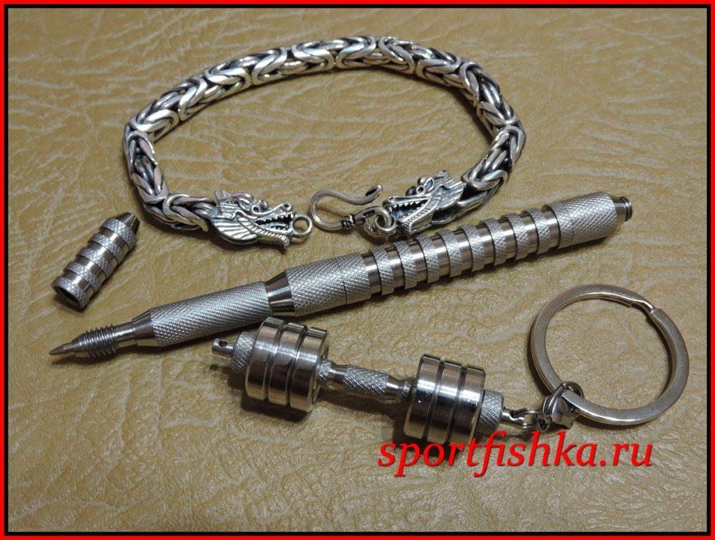 Подарок мужчине на день рождения кожаный браслет
