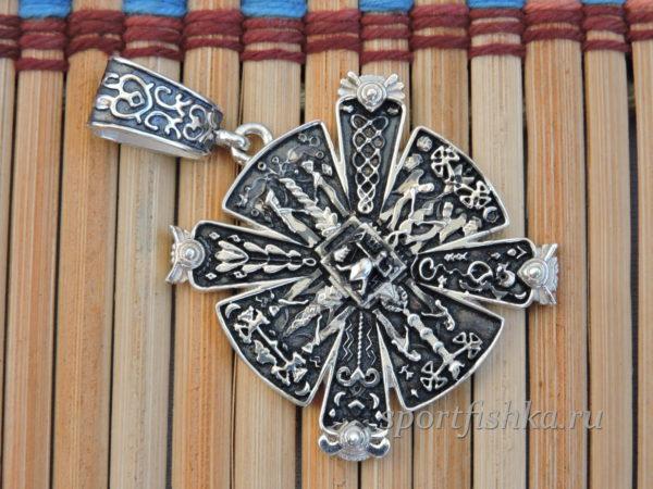Славянский крес серебро купить