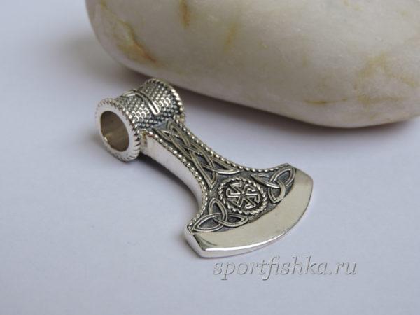 Секира оберег серебряный купить