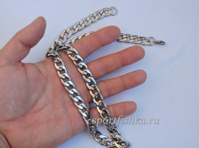 Что подарить мужчине цепочка из стали панцирного плетения
