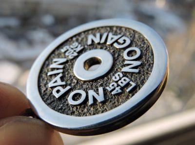 Кулон диск от штанги