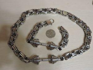 браслет для байкера, браслет мотоцепь, огромный браслет, спортивный подарок, подарок мужчине.