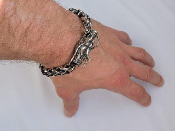 Браслет с драконом, подарок для мужчины