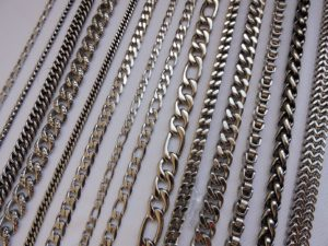 Брутальные цепи, подарок мужчине, стильная цепь, массивная цепь
