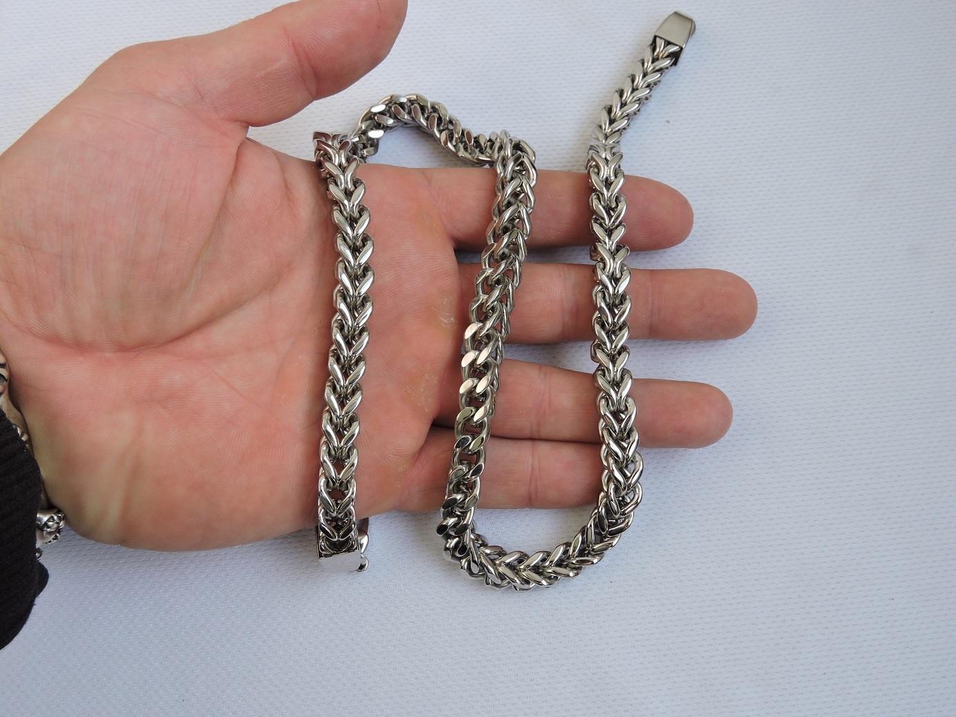 Квадратная стальная цепь