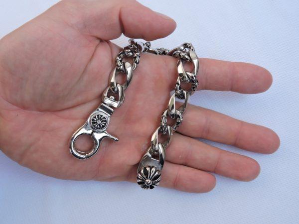 Красивый браслет из стали, оригинальный браслет