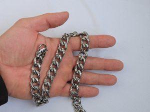 Мужская цепь из стали