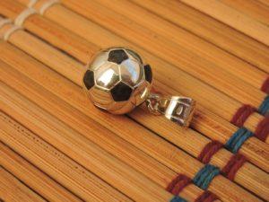 Кулон футбольный мяч