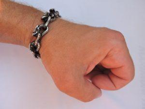 Купить браслет из стали