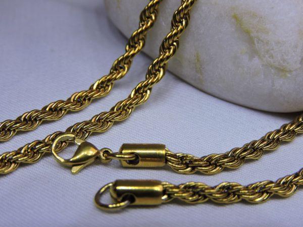 Женская золотая цепочка, купить красивую цепочку