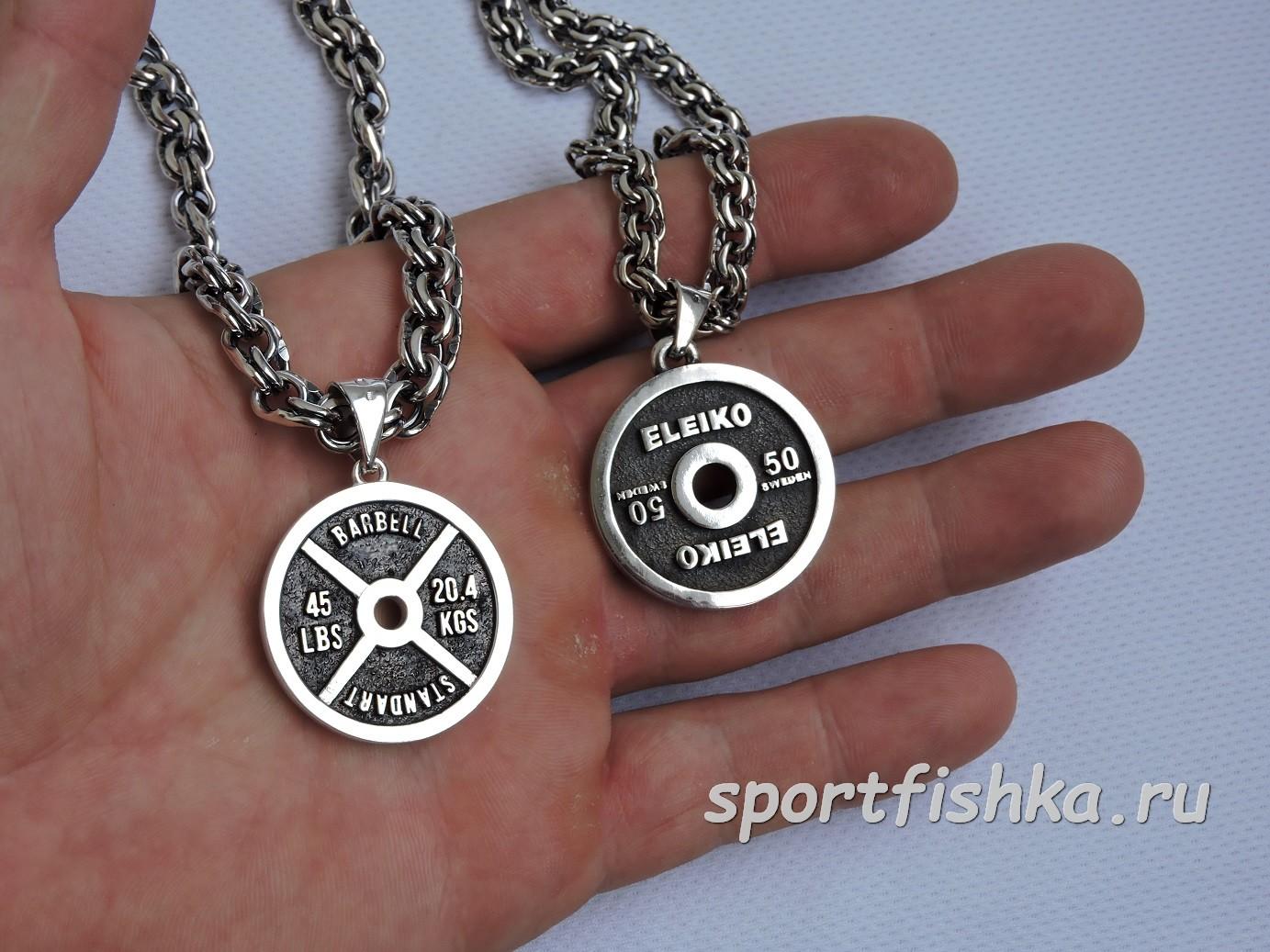 Спортивные подарки из серебра