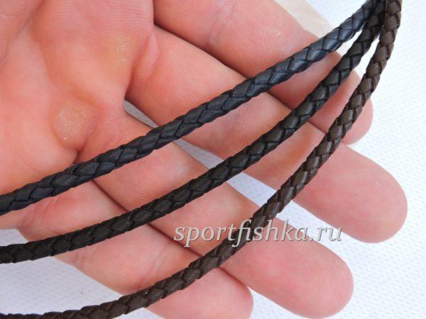Кожаный шнурок на шею