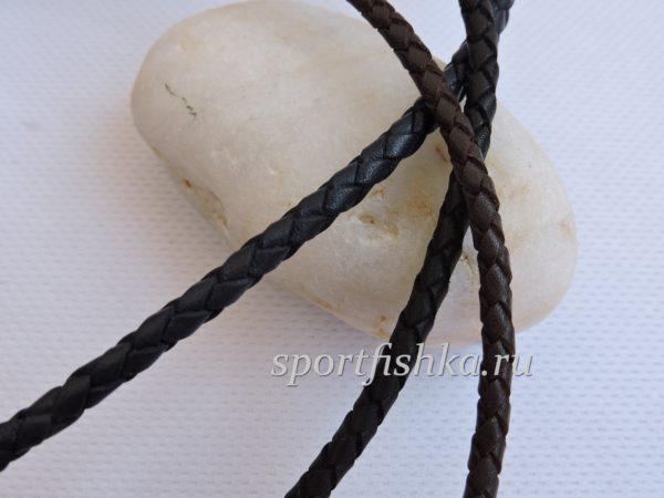 Плетеные кожаные шнурки