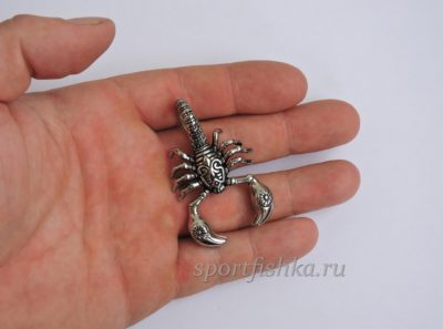 Кулон подвеска скорпион