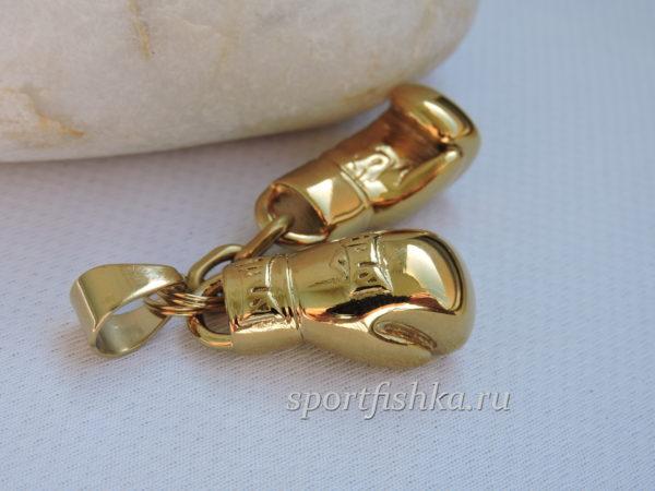 Золотые боксерские перчатки, подарок боксеру