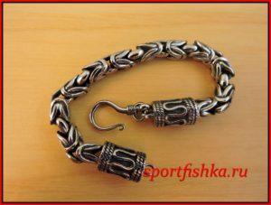 Подарок мужчине на день рождения, лисий хвост браслет