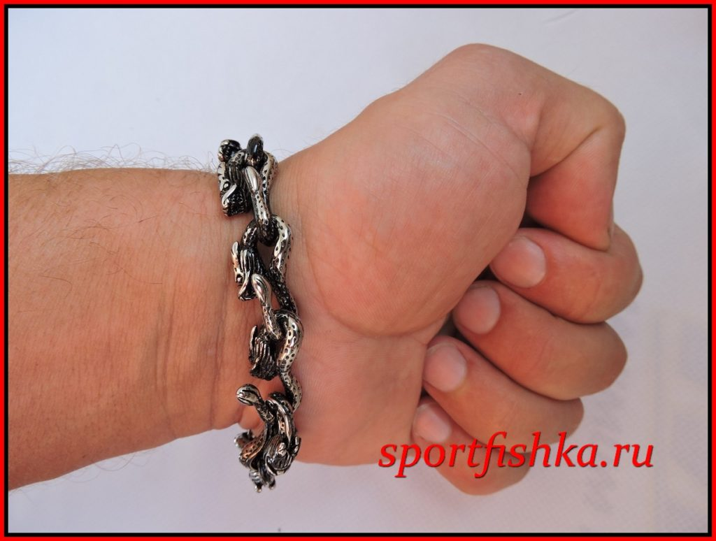Подарок мужчине на день рождения оригинальный браслет сталь
