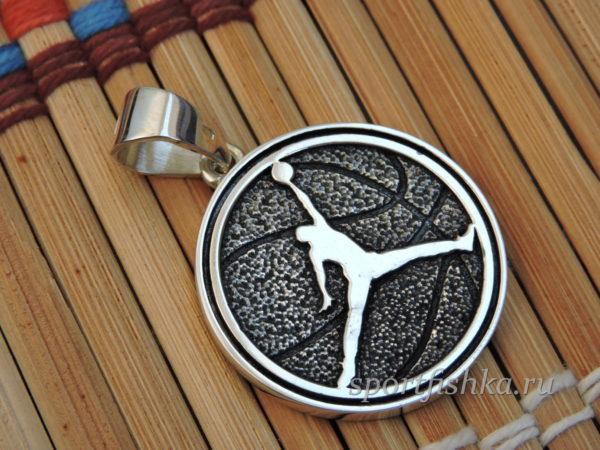 Баскетбольный подарок кулон с цепочкой