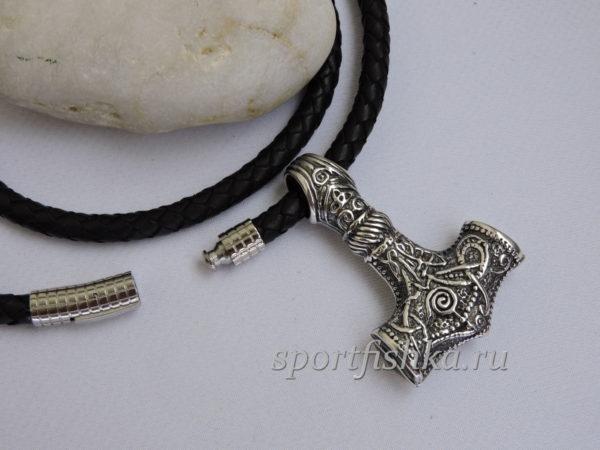 Подвеска кулон молот тора серебро, мужские подарки