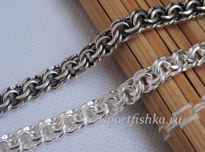 Цепочка бисмарк фото плетение