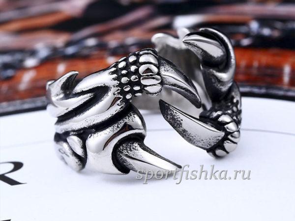 Коготь кольцо из стали