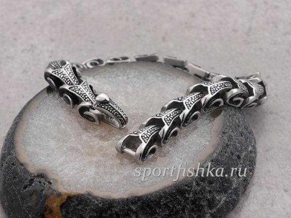 Купить мужской стальной браслет