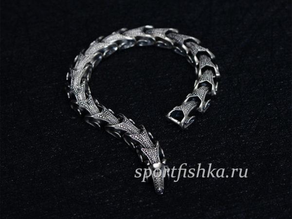 Купить серебряный браслет мужской в спб