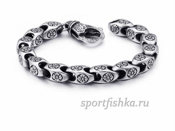 Купить стальной браслет мужской