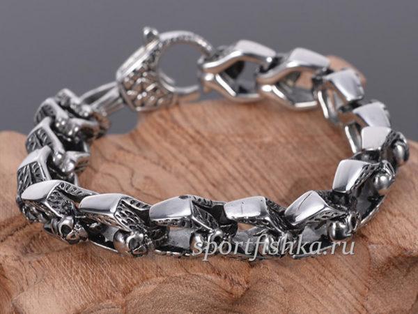 Купить стальной браслет на руку
