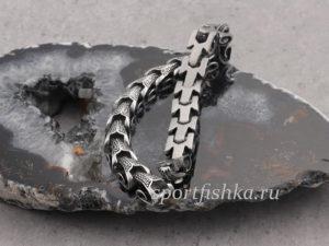 Мужские подарки браслет из стали