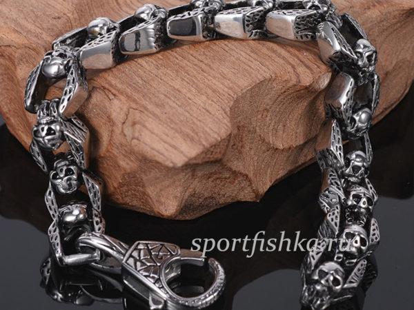Мужские подарки купить браслет из стали