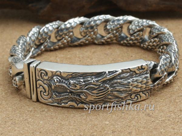 Мужские серебряные браслеты москва