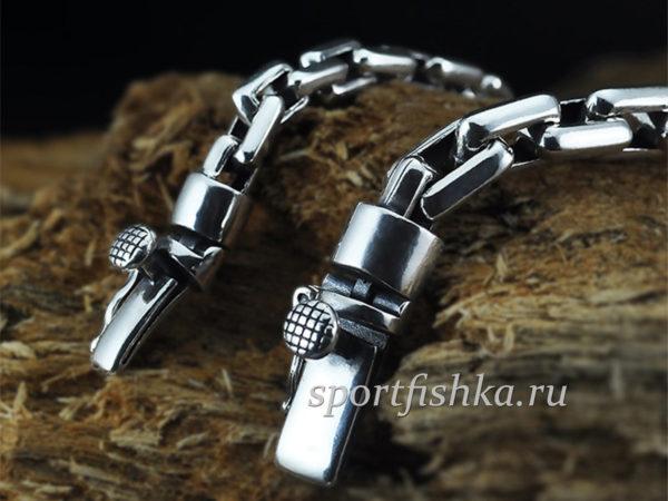 Мужские серебряные браслеты спб