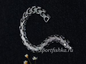 Мужской подарок серебряный браслет
