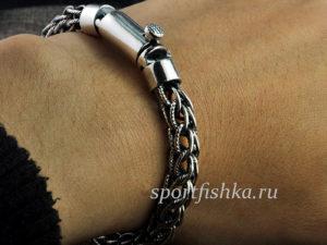 Мужской серебряный браслет недорого