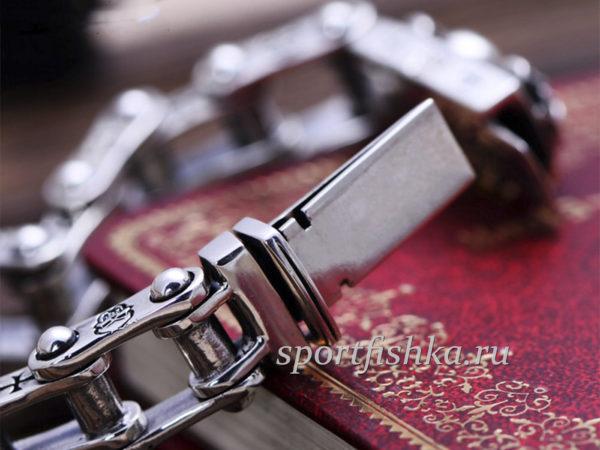 Серебряный браслет мужской цена