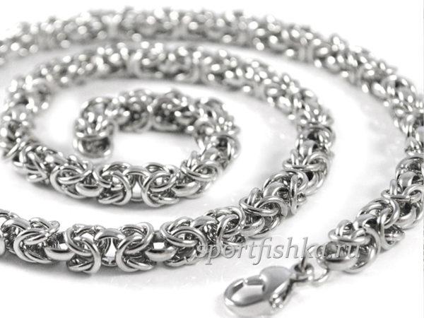 Стильные стальные цепочки для мужчин и женщин