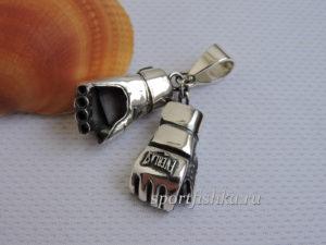 Кулон шингарты серебро