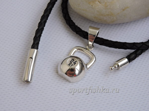 Подарок спортсмену серебряная гиря