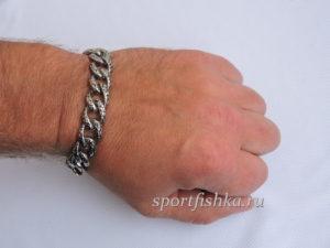 Что подарить мужчине, браслет из нержавеющей стали