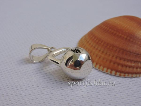 Подарок мужчине серебряная гиря