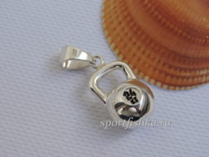 Серебряная гиря подвеска, Подарки спортсменам