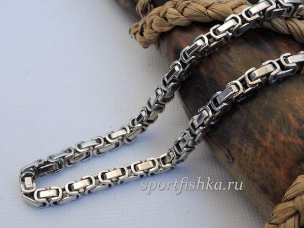 Бижутерия для мужчин цепочка из стали византия