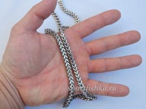 Что подарить мужчине цепочка из стали