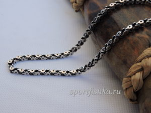 Мужская бижутерия цепочка из стали подарок для мужчины